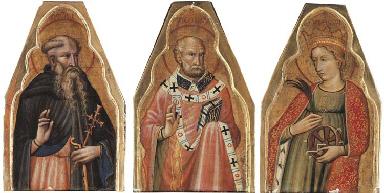 Saint Anthony; Saint Nicholas;