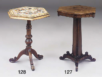 A specimen marble top occasion