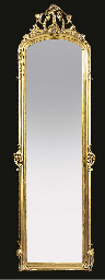 A Victorian gilt composition p