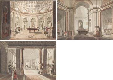 Vues des salles du musée du Va