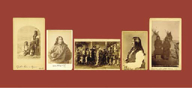 A GROUP OF FIVE PHOTOGRAPHS OF