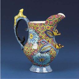 A leopard jug