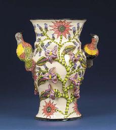 A bird vase