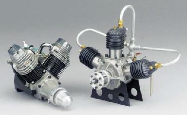 An Enya model VT-240 80EV-twin