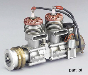 Two single cylinder air cooled