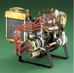A supercharged four cylinder s