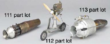 A model turbo-jet engine,