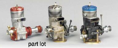 A McCoy 60 glow plug engine wi