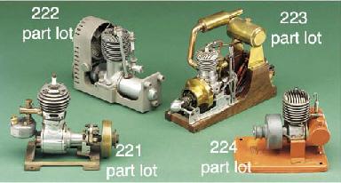 A single cylinder aluminium di
