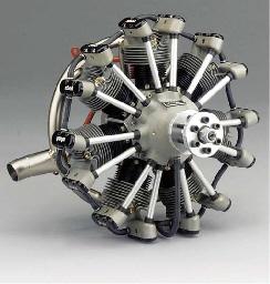 A fine seven cylinder air cool