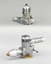 An HGK 15 2.5cc glow plug raci