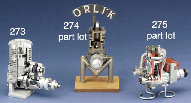 A sectioned Orli'k spark ignit