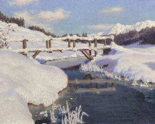 Soleil sur la neige, Suisse