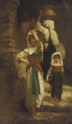Water Carriers at the Well