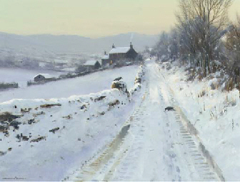 Winter in Swaledale, Yorkshire
