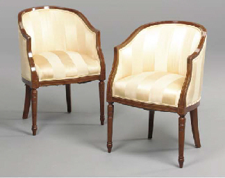 A PAIR OF GEORGE III STYLE INL