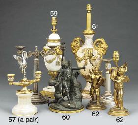 A Continental gilt bronze moun