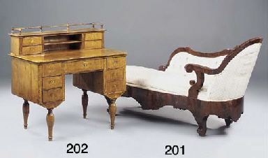 A GERMAN FRUITWOOD AND BURR CR