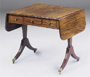 A SCOTTISH REGENCY MAHOGANY AN