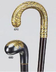 A Toledo-ware mounted snakewoo