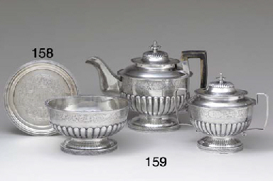 A SILVER SALVER OF SOUTHERN IN