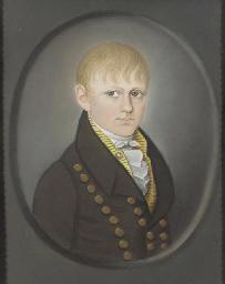 Portrait of a Boy in a Brown J