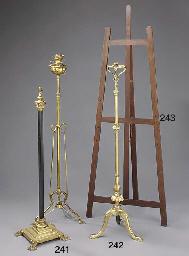 A telescopic brass standard oi
