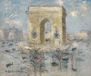 L'Arc de Triomphe, La Place de
