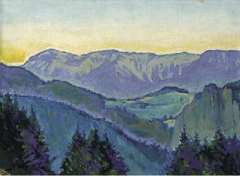 Landschaft bei Semmering
