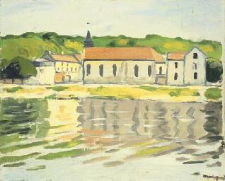 La Seine à Herblay, automne