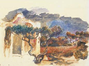 Le cabanon et l'olivier