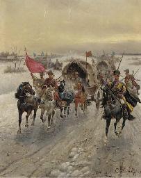 A Siberian gold convoy