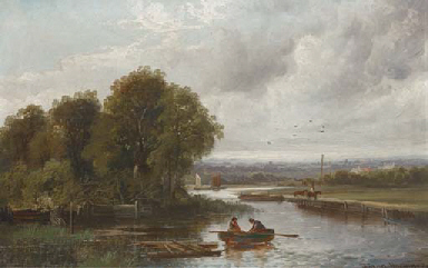 On the canal near Birmingham