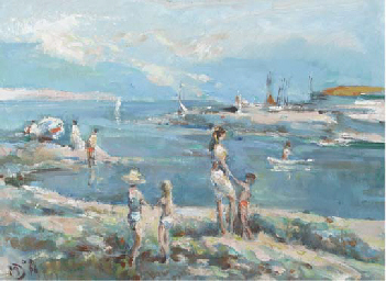 At the seaside