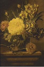 Roses, narcissae and auriculas