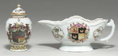 TWO ARMORIAL TABLEWARES