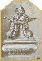 Design for a monument with two