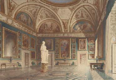 The Sala dell'Iliade in the Ga