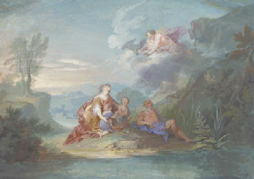Leda with Castor and Pollux be