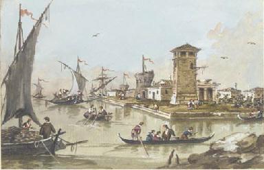 The port of Malamoco
