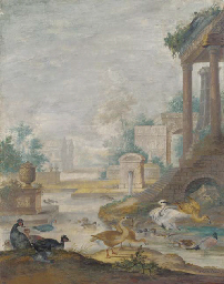 A classical landscape with wil