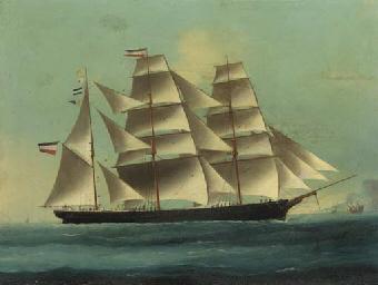 A German clipper ship in Chine