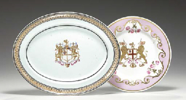 TWO EAST INDIA COMPANY PIECES