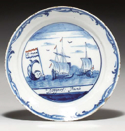 A DUTCH DELFT TOPOGRAPHICAL PL