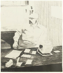 Sidney in his office (S.A.C. 1