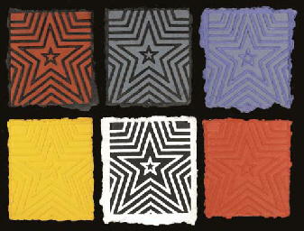 Five-Pointed Star: Six Panels