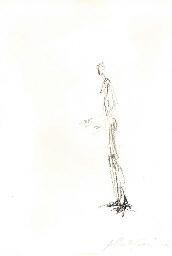 Man Standing (Homme debout), f