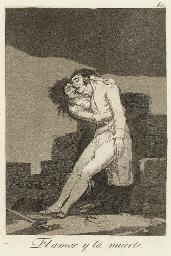 El amor y la muerte, Plate 10