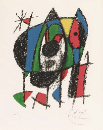 Joan Miró Lithographs II: One