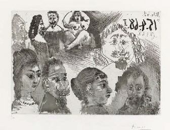 Autour d'El Greco et de Rembra